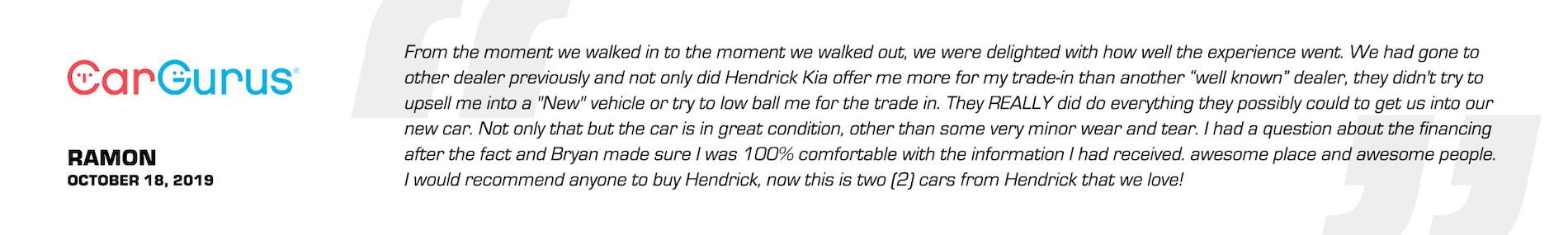 Hendrick Kia Cary Reviews