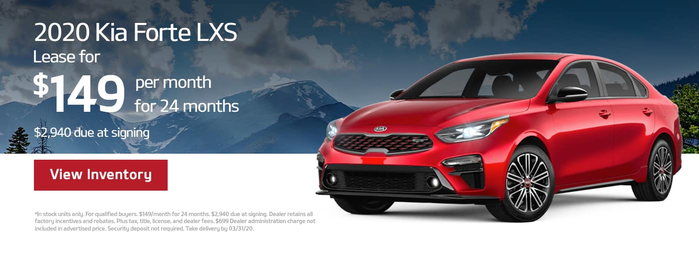 2020 Kia Forte Lease in Cary, NC