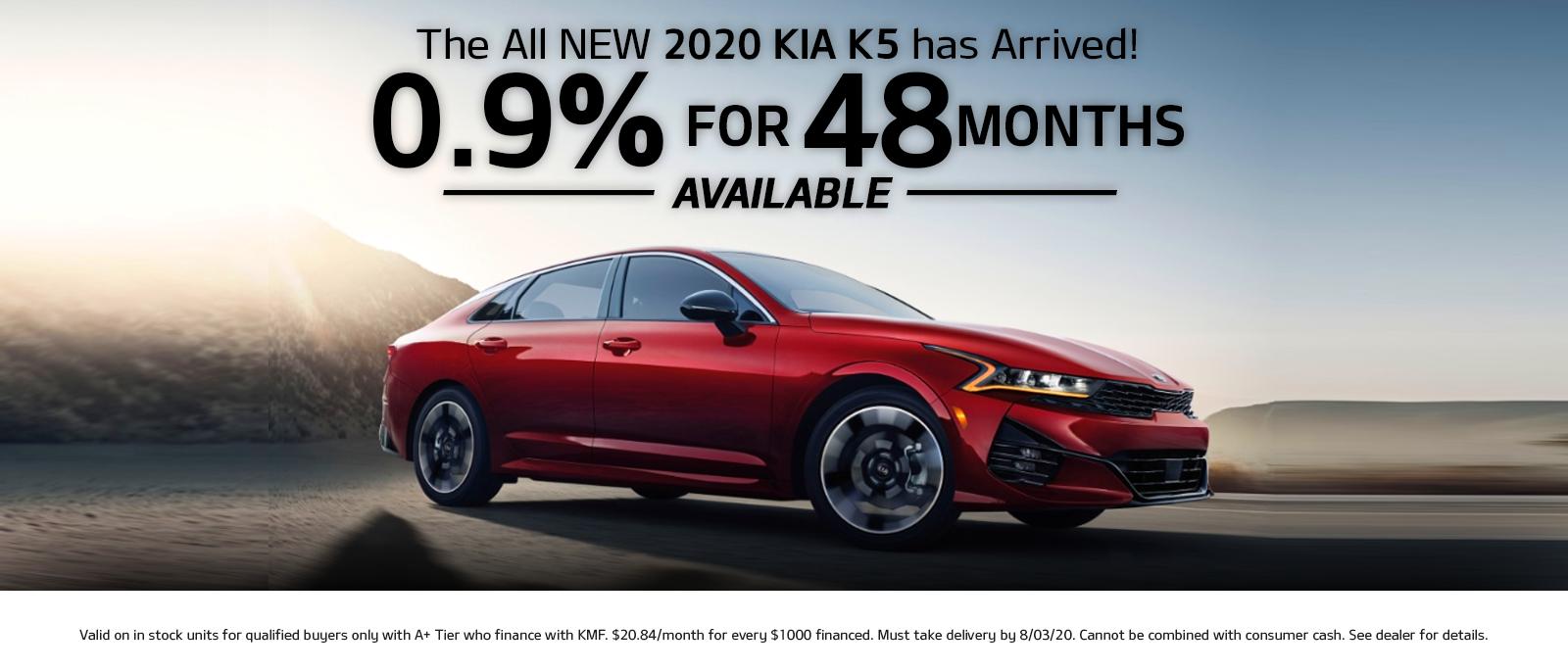 all new kia k5