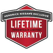 Hendrick Nissan Lifetime Powertrain Warranty