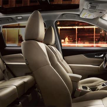 Rogue SUV Interior