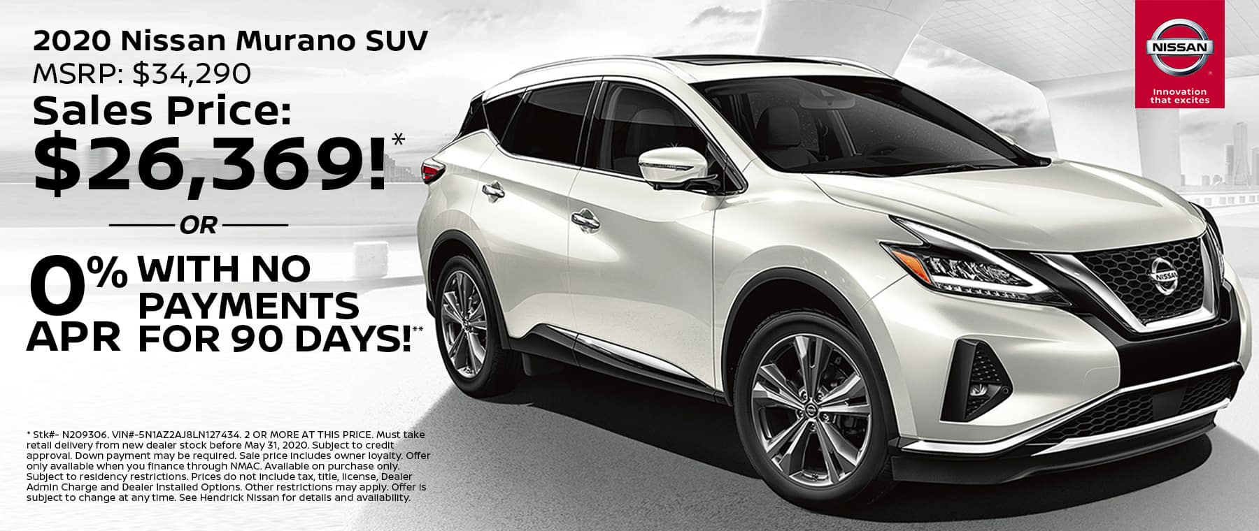 KC Nissan May20 TR New Vehicle Specials MURANO 1800x760