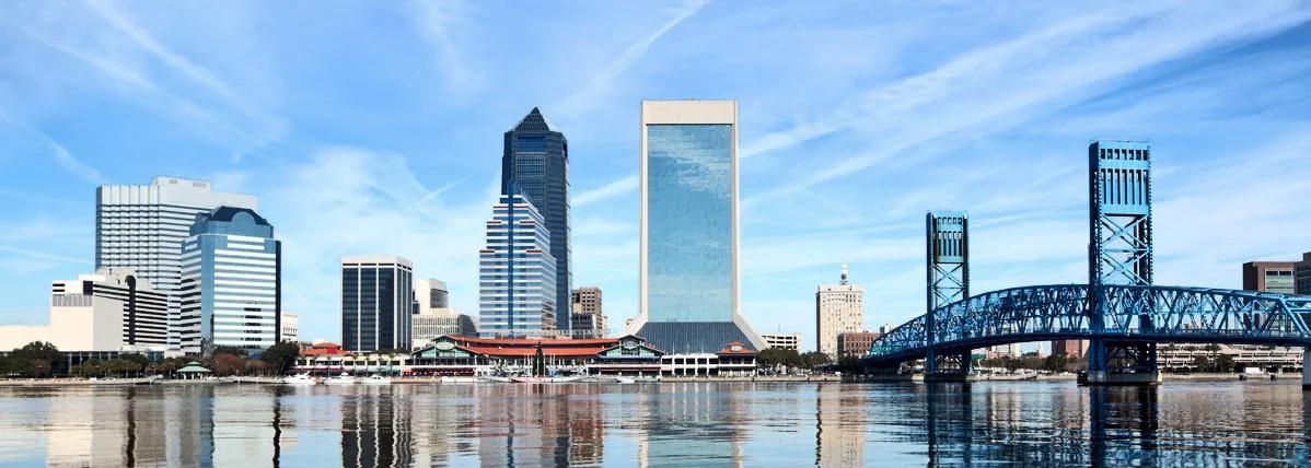 Jacksonville florida skyline during the day