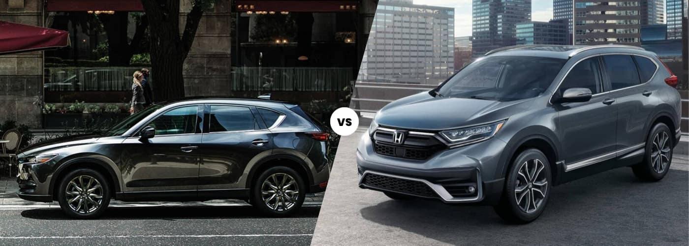 2020 Mazda CX-5 vs Honda CR-V 2020