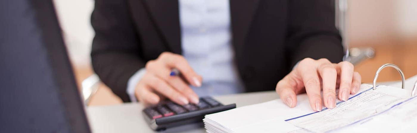 Car Finance Paperwork with calculator