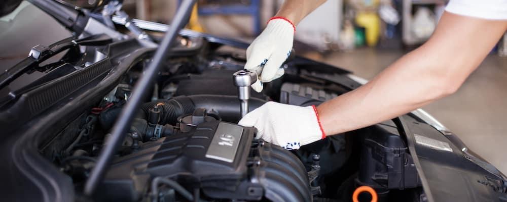Mazda service engine