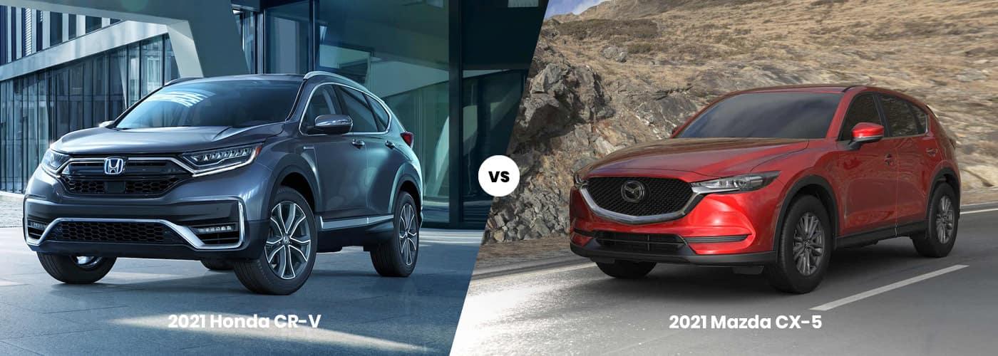 2021 Mazda CX-5 vs 2021 Honda CR-V Comparison