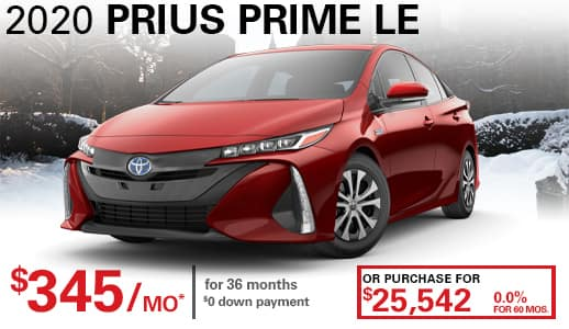 2020 New Toyota Prius Prime LE FWD Hatchback
