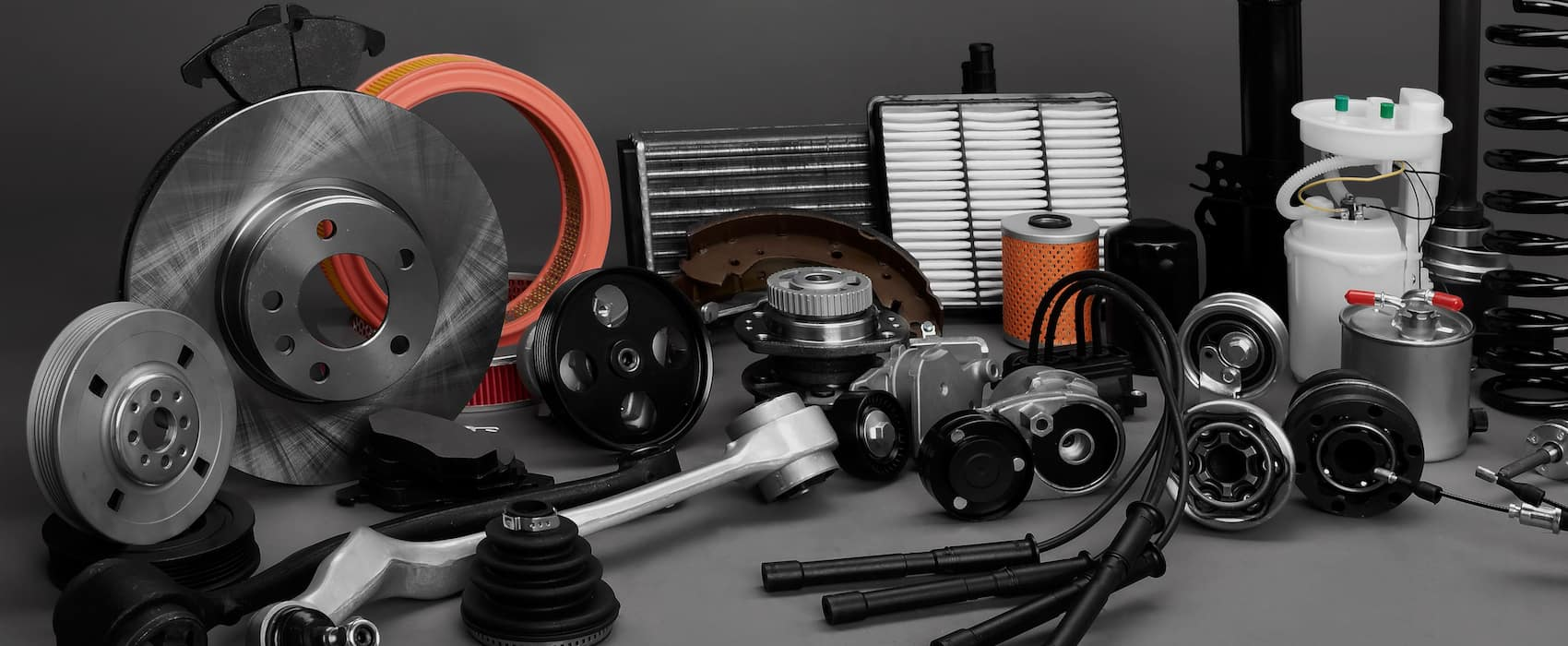 collection of parts