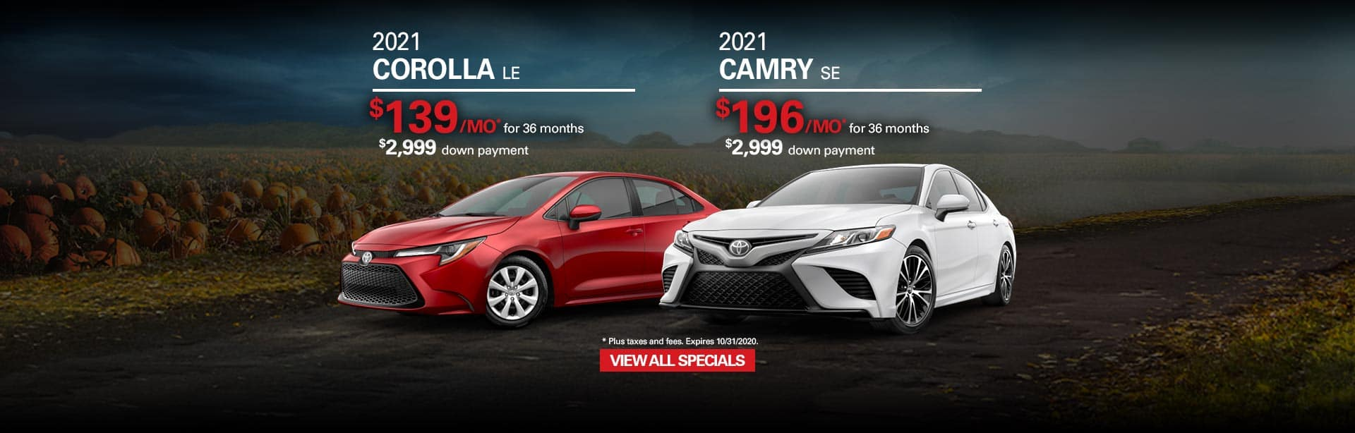 Oct20-HT-Corolla-LE-Camry-SE-Banner