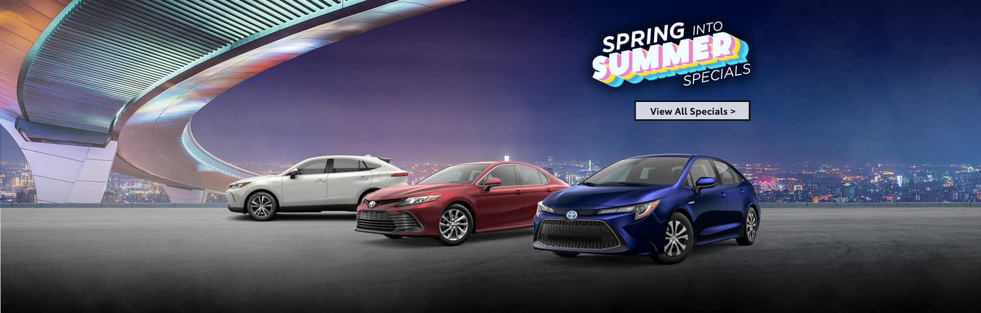 Holman Toyota June Specials