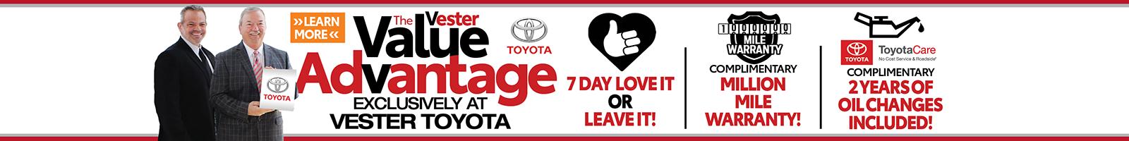Value Advantage Toyota