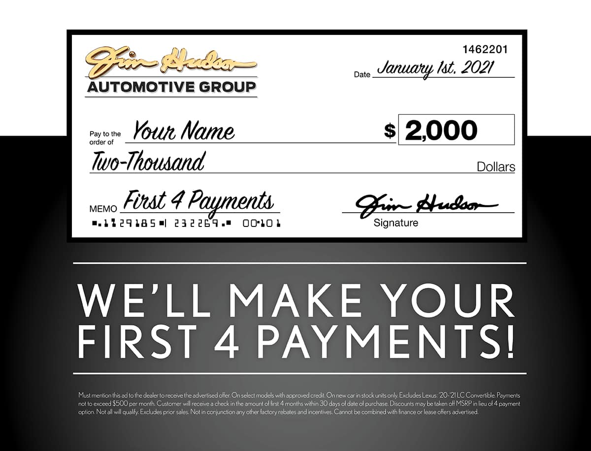 First 4 Payments