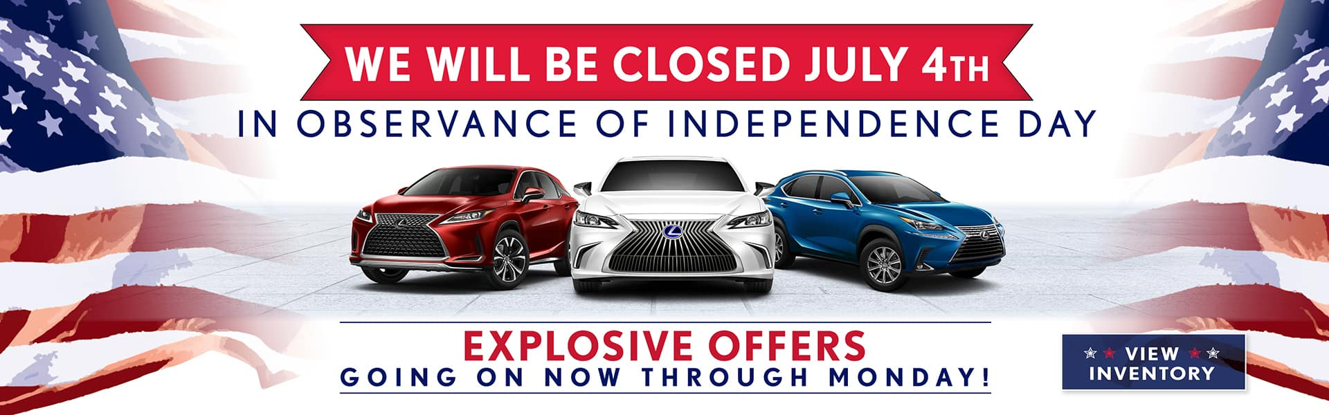 Closed Fourth of July