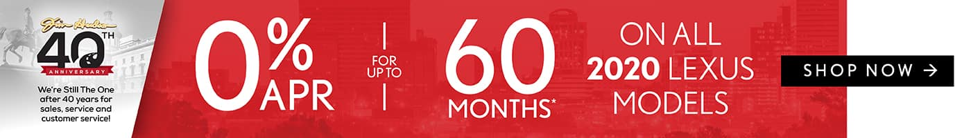 0% APR up to 60 months