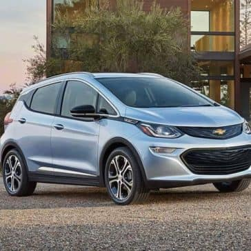 2019 Chevy Bolt Parked