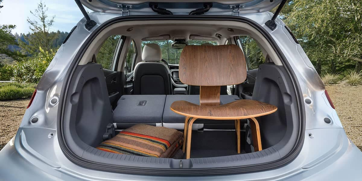 2019 Chevy Bolt Trunk Space