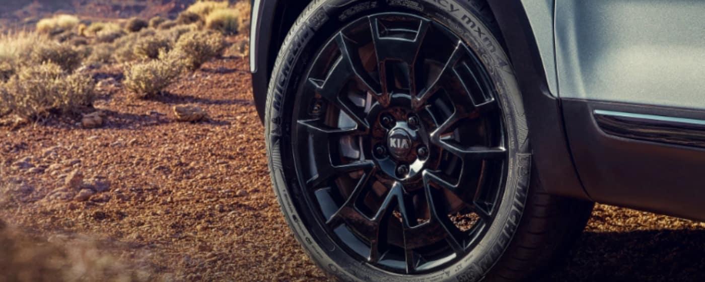 kia telluride wheels
