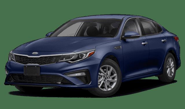 Blue 2019 Kia Optima