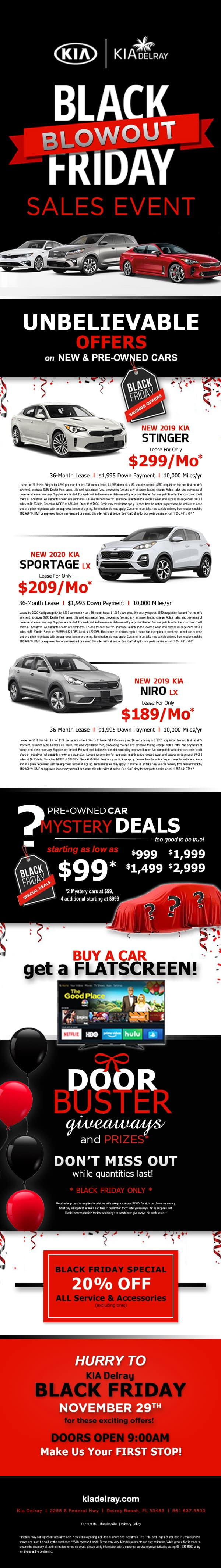 Kia Delray Black Friday Sales Event