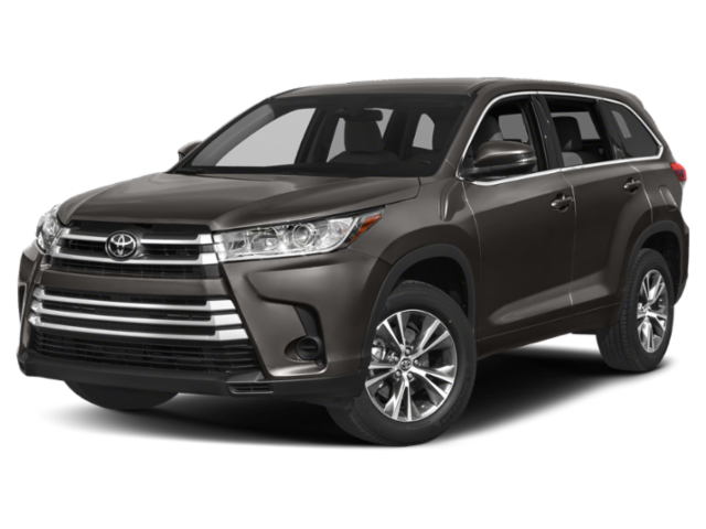 Greenish gray 2019 Toyota Highlander