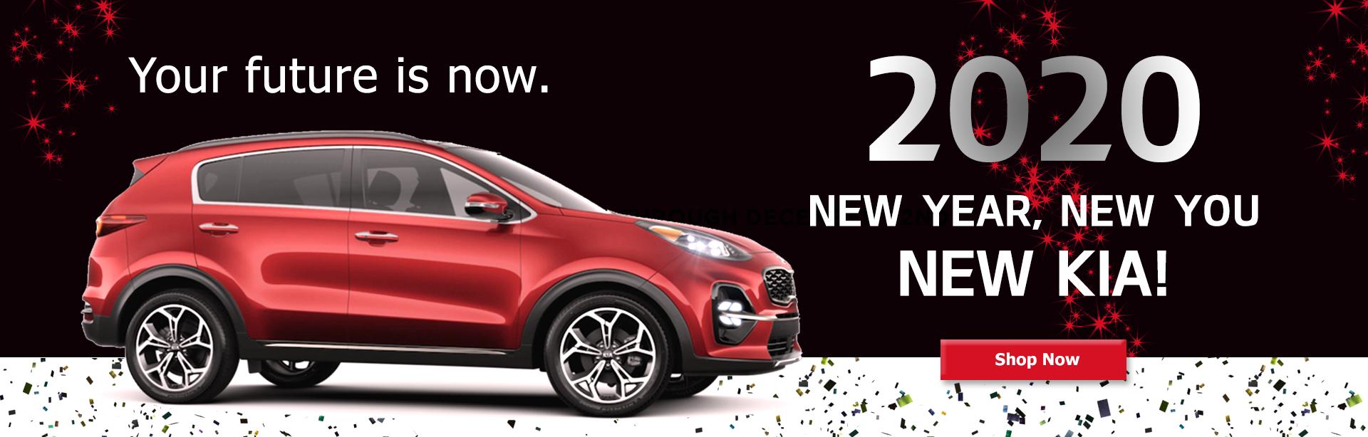 Kia Delray- New Year, New You, New Kia!