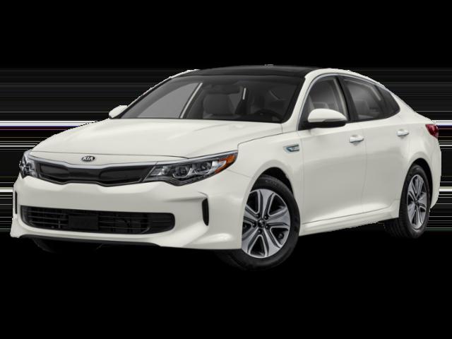 White 2019 Kia Optima EX Hybrid