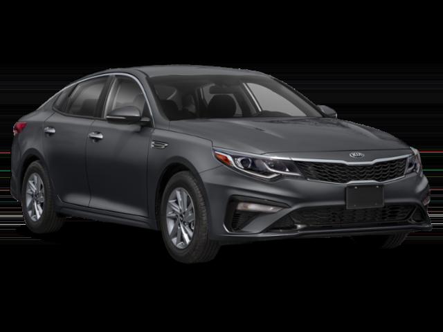Gray 2020 Kia Optima LX