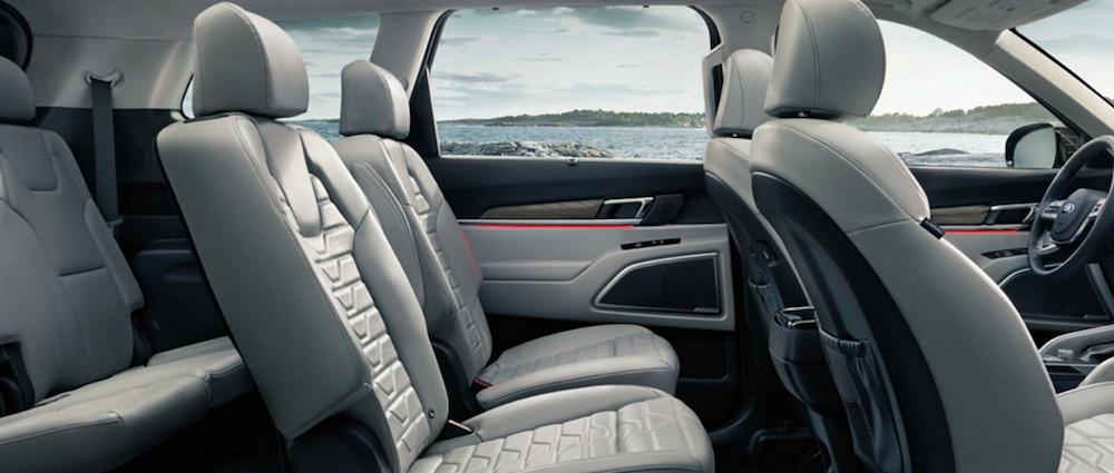 Kia Telluride interior seating