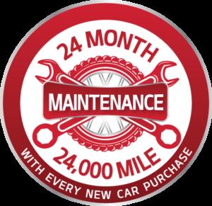 Kia Delray complimentary maintenance logo