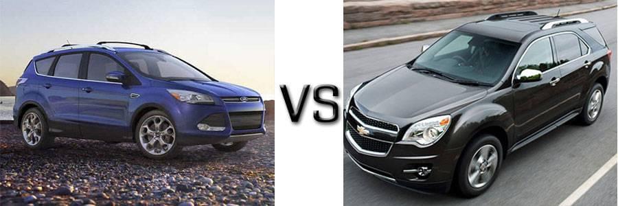 Ford Escape Vs Chevy Equinox >> 2015 Ford Escape Vs Chevrolet Equinox Lafayette Ford
