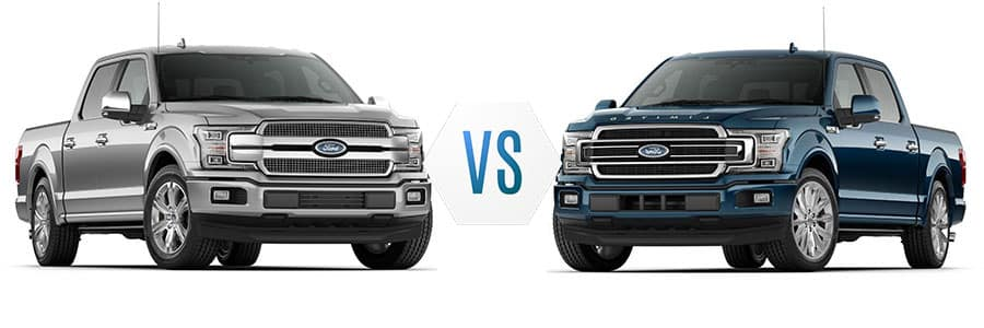 Used 2018 Ford F 150 Platinum Vs Limited Lafayette Ford