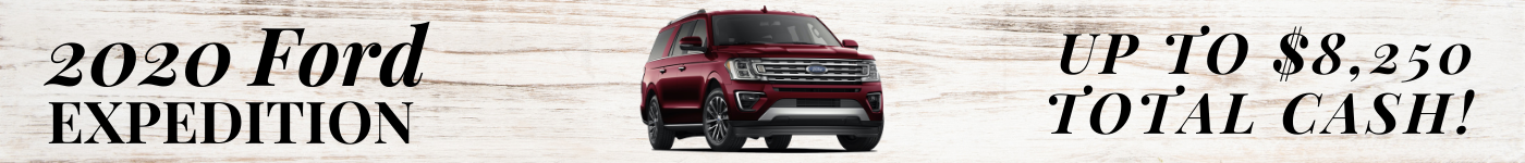 2020 Ford Expedition Ut to $8,250 Total Cash!