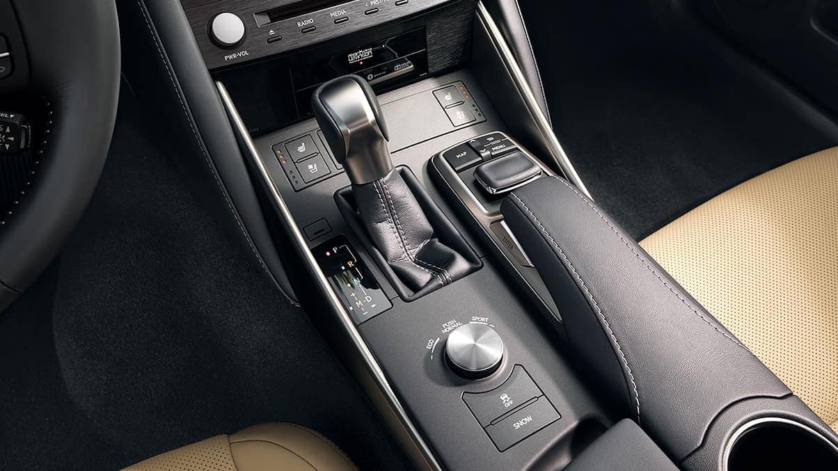 2020 Lexus IS 300 drive mode select