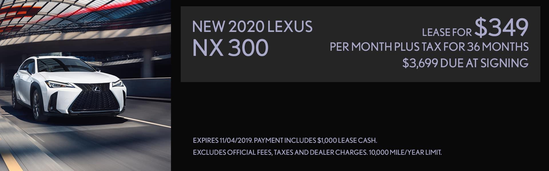 Lease Lexus NX 300