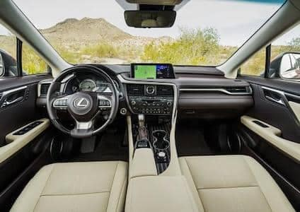 Lexus-RX-350-Interior
