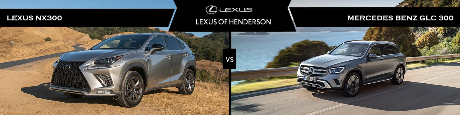 Lexus NX 300 vs Mercedes-Benz GLC
