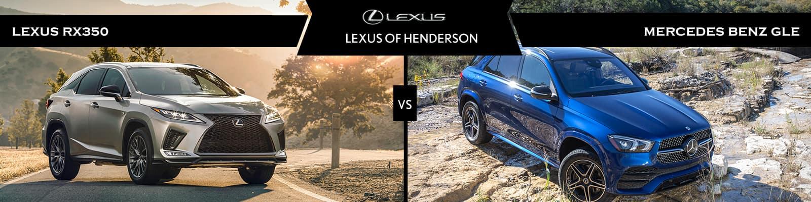 Lexus RX 350 vs Mercedes-Benz GLE