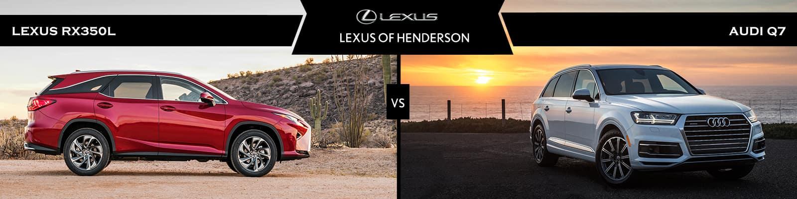 Lexus RX 350L vs Audi Q7