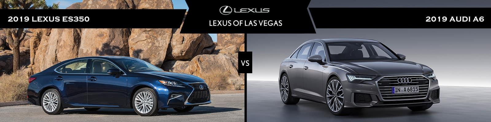 Lexus Vs Audi >> Lexus Es Vs Audi A6 Luxury Sedan Comparisons Las Vegas