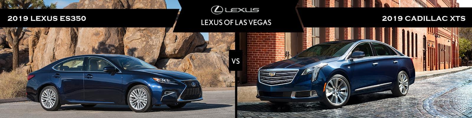 Lexus ES vs Cadillac XTS: Pros and Cons l Lexus of Las Vegas