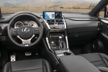 Lexus NX 300 Interior