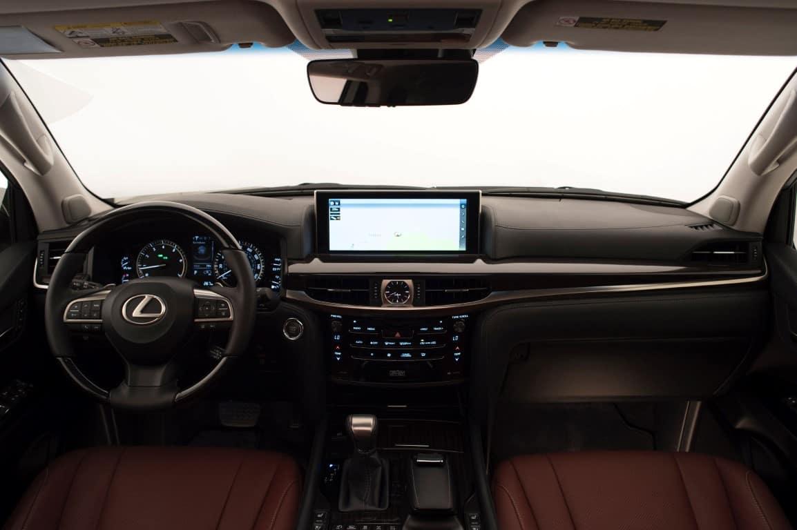 Lexus LX570 dash Lexus of Las Vegas