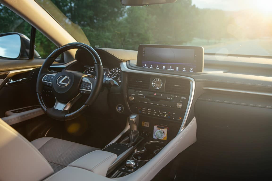 Lexus RX 350 interior Lexus of Las Vegas