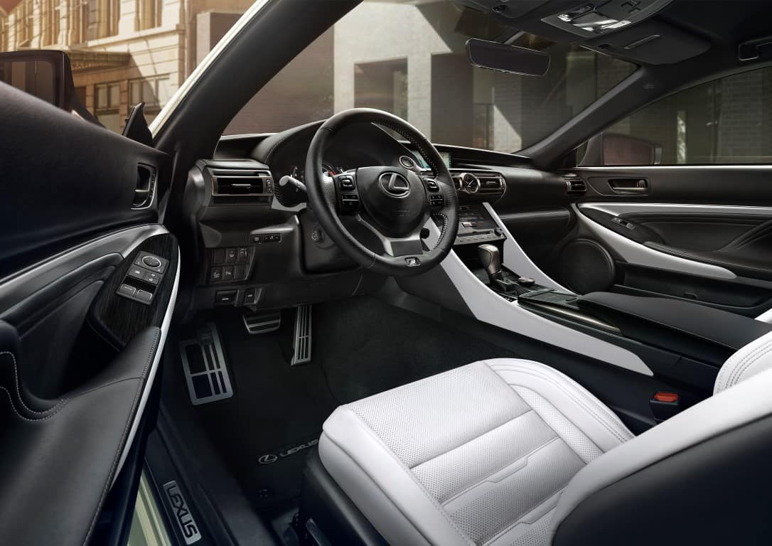 Lexus RC interior Lexus of Las Vegas
