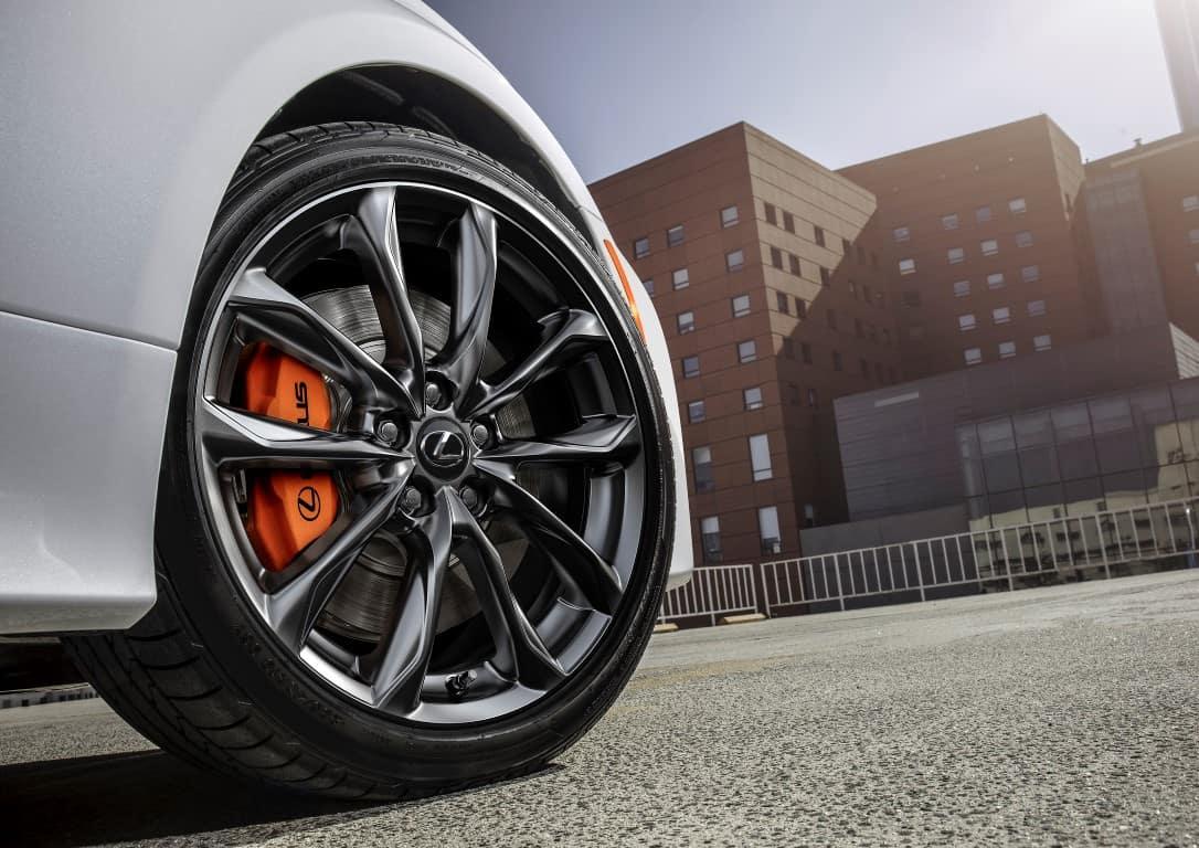 Lexus RC wheel and brakes Lexus of Las Vegas
