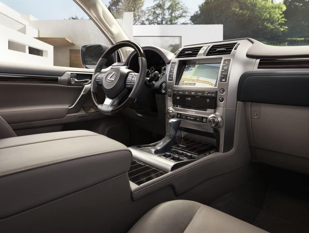 Lexus GX460 interior and infotainment Lexus of Las Vegas