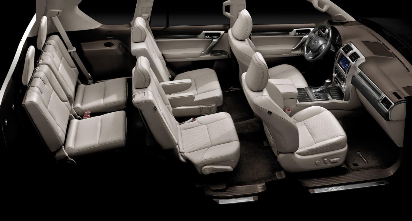 Lexus GX460 interior cutaway Lexus of Las Vegas