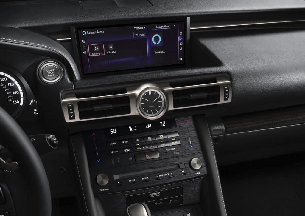 2020 Lexus RC center console Lexus of Las-Vegas