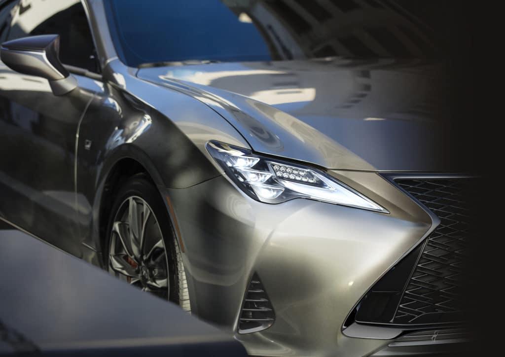 2020 Lexus RC headlights Lexus of Las Vegas
